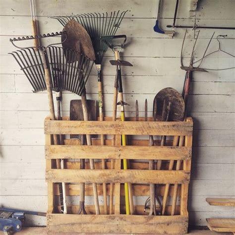 diy garden tool storage solutions littlepieceofme