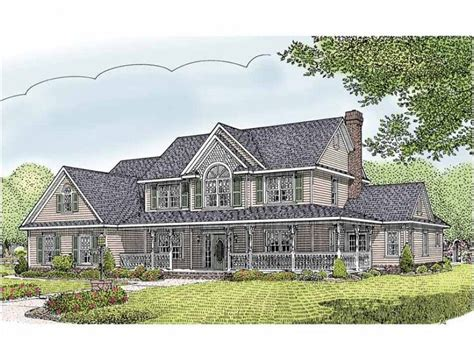 5 Bedroom Country House Plans by Eplans Country House Plan Five Bedroom Country 2984