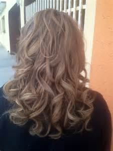 platinum highlights with ash brown hair a camal color on light ash blonde highlights dark brown