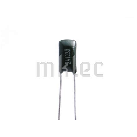 polyester capacitor typical applications 1 2nf polyester capacitor 122