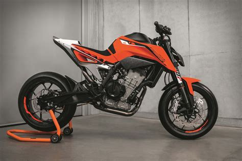 New Ktm Ktm 790 Duke Prototype Debuts With Parallel Engine