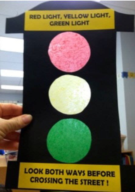 traffic light craft for traffic light craft projects