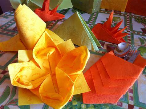 Origami Con I Tovaglioli by Tovaglioli Origami Per Le Vostre Cene D Estate Con