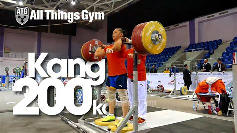 Front Rack Hold by Yue Kang 200kg Front Rack Hold Dips Almaty 2014