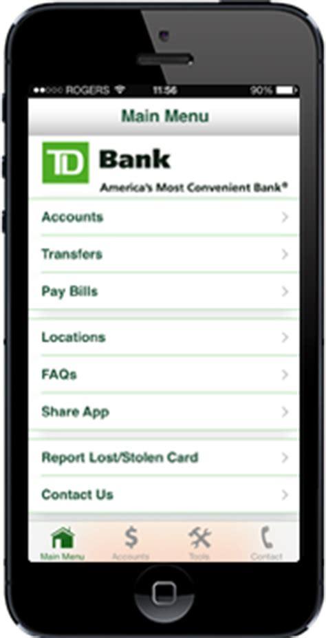 td bank check deposit app td bank small businessdirect mobile banking app