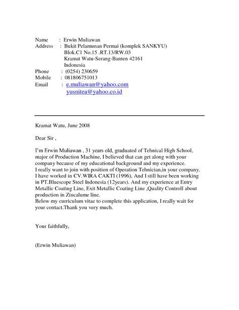 format surat lamaran kerja di hotel 9 contoh surat lamaran kerja in english ben jobs