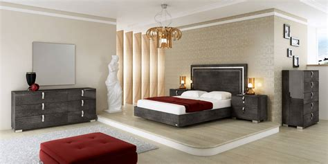 bedroom furniture made in italy espirit modern platform bedroom set by sma furniture made