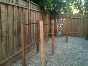 Backyard Parallel Bars Building Outdoor Pull Up Bar And Parallel Bars Ivo