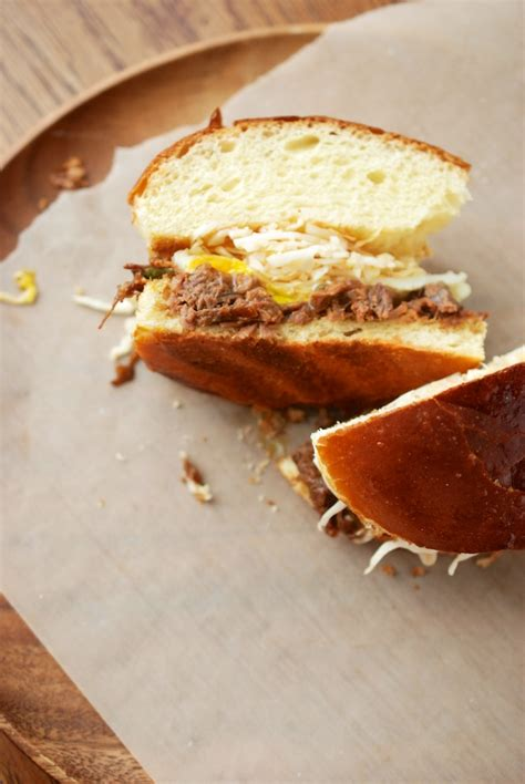 short rib sandwich korean ish short rib sandwich the roaming kitchen