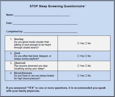 printable sleep quiz sleep questionnairescreening test sleep diagnostics centre