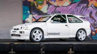 ken blocks new car ford rs cosworth rally car is ken block s new wrc