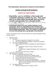 Essay Draft Exle by Outline To Draft