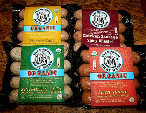 brat hans the original brat hans organic sausage review