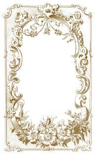 Digital frame image ornate european the graphics fairy