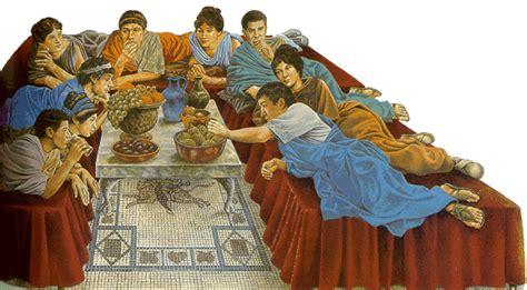banchetti romani romans in britain leisure time in britain