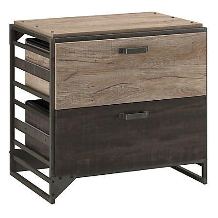 bush lateral file cabinet bush furniture refinery lateral file cabinet rustic