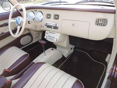 nissan figaro interior 1991 nissan figaro for sale 1910001 hemmings motor