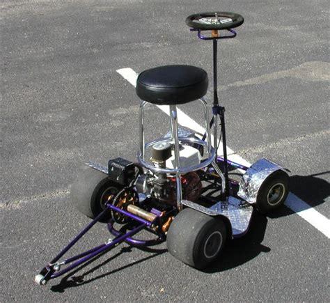 Bar Stool Go Kart Kit by Who Wants A Racing Barstool