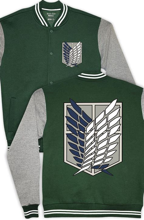 Anime Jaket Attack On Titan Varsity 17 best images about attack on titan on