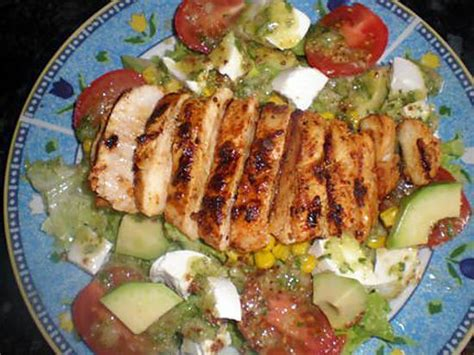 cuisine l馮鑽e et gourmande recette de salade gourmande par fatima84