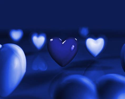 wallpaper blue heart pictures blue hearts by ilnanny on deviantart