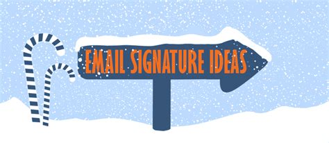 festive christmas email signature ideas