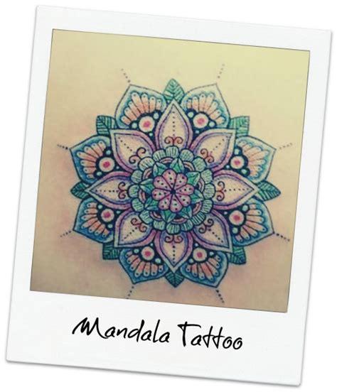 mandala colorati tattoo tatuaggio mandala significato e immagini lei trendy