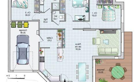 Plan Maison 3d Gratuit En Ligne 3436 by Plan 3d Maison En Ligne 3 Plan Maison 3 Chambres Etage