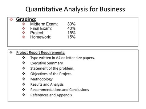 Quantitative And Research Methods In Business Notes For Mba by College Essays College Application Essays Quantitative