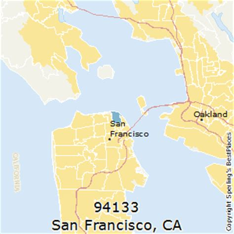 san francisco map by zip code best places to live in san francisco zip 94133 california