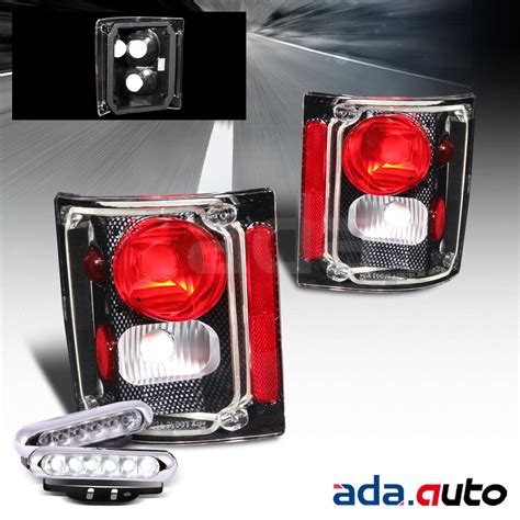 57 chevy led tail lights 1973 1987 chevy c10 suburban tahoe blazer carbon tail