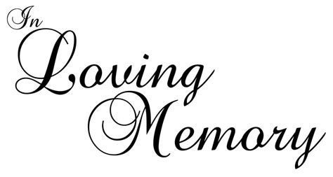 in loving memory templates solomei com