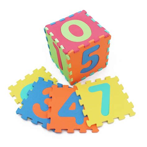 Puzzles Mats by Number Puzzle Mat Kiyobaby