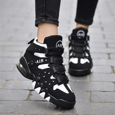 comfortable shoes for working retail female sports shoes air cushion sole vire fashion