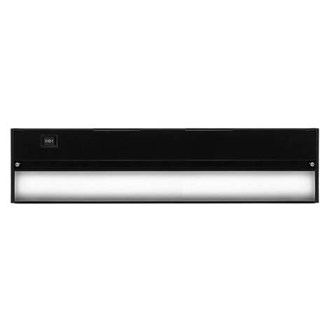 commercial electric under cabinet lighting commercial electric 12 in led silver under cabinet light