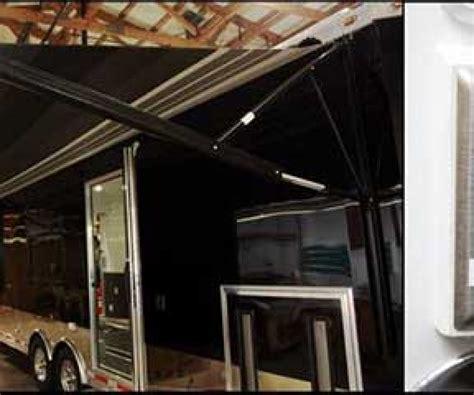 awning options custom trailer options mo great dane trailers