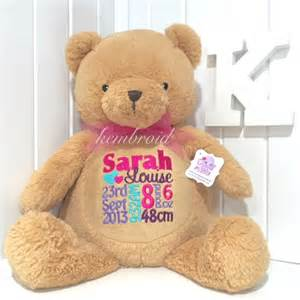 kembroid personalised teddy bears personalized toy gifts