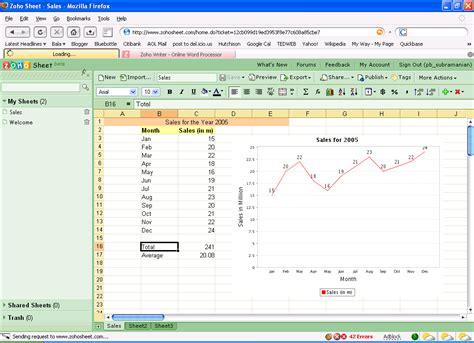 Spreadsheet Alternative by 4 Free Alternatives To Microsoft Excel Bplans