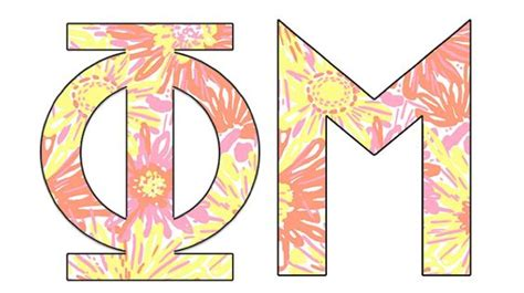 Recommendation Letter Phi Mu Lilly Pulitzer Quot Sunkissed Quot Phimu Sorority Gogreek Mygreekletters Honor