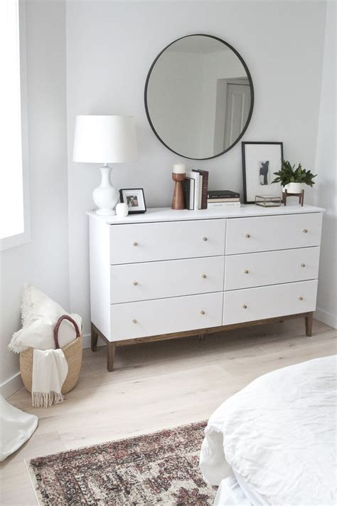 White Bedroom Dresser 25 Best Ideas About Dresser Mirror On Bedroom