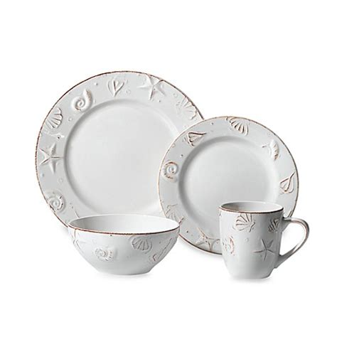 bed bath and beyond dinnerware thomson pottery hton 16 piece stoneware dinnerware set