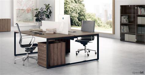 walnut home office desk office desks frame walnut desk