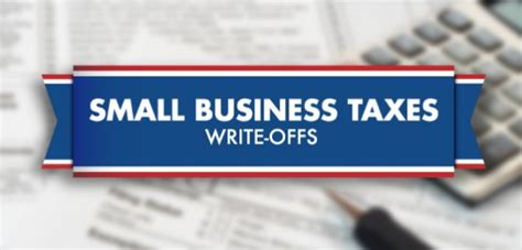 Small Home Business Write Offs List Of Small Business Tax Write Offs Deductions Signs