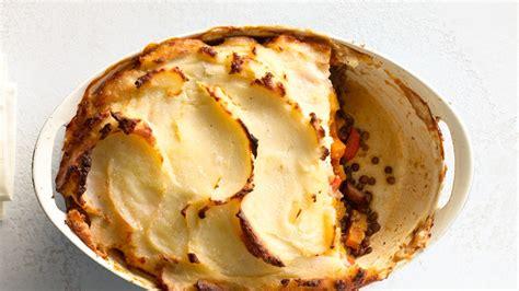 vegetable shepherds pie bon appetit recipe