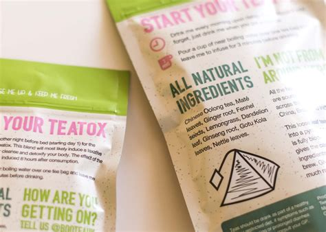 Bootea Detox Reviews by Review A Thorough Honest Look At Bootea 14 Day Teatox