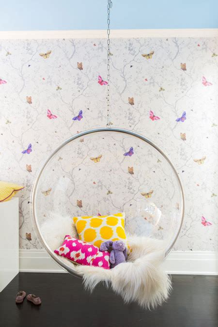 hanging chair for girls bedroom girls bedroom with clear hanging bubble chair