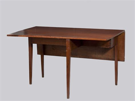 Dining Table With Drop Leaf Hepplewhite Cherry Drop Leaf Dining Table