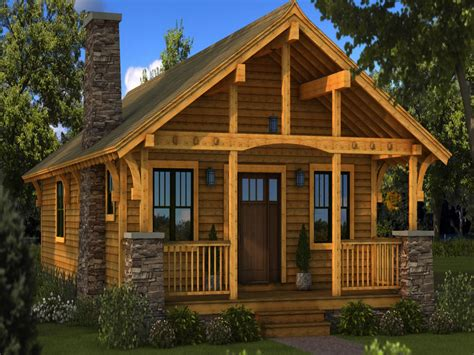 Small Vacation Home Floor Plans small log home plans chesterfield southland log homes