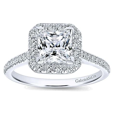 best 25 princess cut halo ideas on