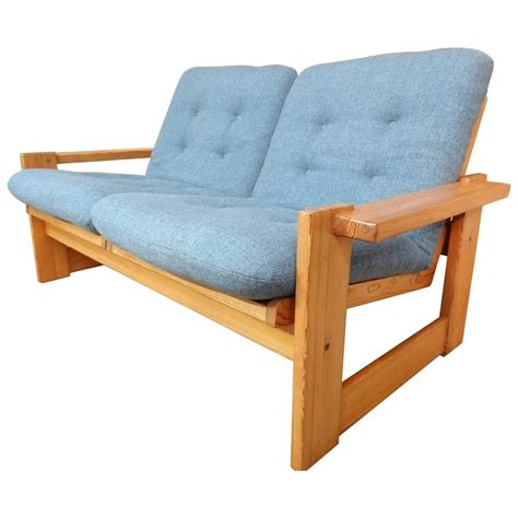vintage loveseat for sale rare vintage dutch pastoe two seat sofa or loveseat for